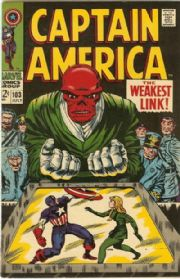 Captain America #103 (1968) Red Skull Silver Age Marvel comic book